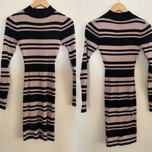Say What | Striped Mini Dress Sz M